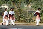 Étudiant sikh en Inde, Punjab.