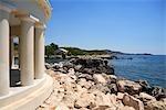 Grèce, îles Ioniennes, Cefalonia, Argostoli, phare de Saint Theodor.