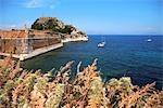 Grèce, îles Ioniennes, Corfou, Citadelle de Kerkyra.