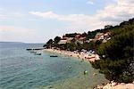 Croatie, Dalmatie, Makarska, Bratus.