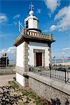 France, Normandy, Honfleur, lighthouse