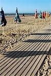 France, Normandy, Trouville sur Mer, the beach