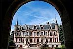 France, Centre, Saint Florent sur Cher, hôtel de ville