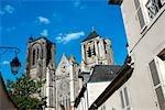 France, Centre, Bourges, la cathédrale