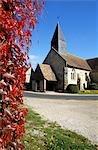 France, Normandy, church