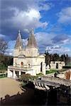 France, Centre, castle of Anet, the chapel