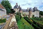 France, Centre, château de Monleans