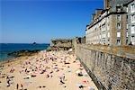 France, Bretagne, Saint Malo, plage