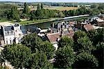 France, Centre, Saint Aignan, le long de la rivière Cher