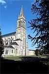 France, Normandie, Soligny la Trappe, l'abbaye