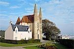France, Normandy, Saint Adresse, church of Notre Dame des Flots