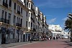 Morocco, Tangier, promenade