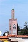 Morocco, Tangier, the grand socco, mosque