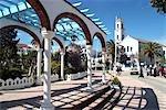 Morocco, Chefchaouen, Mohamed V square