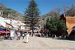 Morocco, Chefchaouen, Outa Hammam square