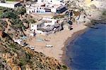Maroc, trois fourches du Cap, près de Melilla