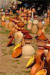 Au Maroc, près de Tanger, poterie