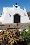 Spain, Canary islands, Lanzarote, Madasche, church
