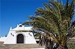 Espagne, Iles Canaries, Lanzarote, Madasche, église