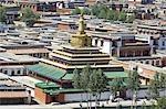 Chine, Gansu, Xiahe, monastère tibétain de Labrang