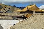 China, Gansu, Xiahe, Tibetan monastery of Labrang