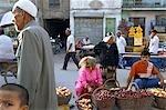 China, Xinjiang, Kashgar, bazaar of the old city