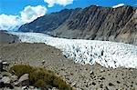 Pakistan, Hunza valley, glacier of Passu
