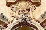 Italie, Sicile, Modica, église de San Giorgio, détail
