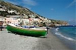Italie, Sicile, Iles Eoliennes, Lipari, plage de Carla