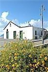 Italy, Sicily, Aeolian islands, Lipari, church