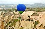 Turkey, Cappadocia, Goreme national park, hot-air balloon