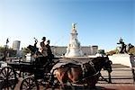 England, London, Buckingham palace, Queen Victoria memorial