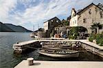 Montenegro, garage boat