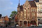 Belgium, Brussels, buildings