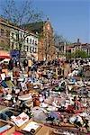 Belgium, Brussels, flea market