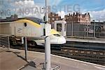 Gare de Waterloo de Londres, en Angleterre,