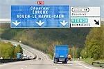 France, A13 highway
