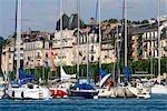Switzerland, Geneva, port