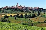 Italy, Tuscany, Siena, San Gimignano