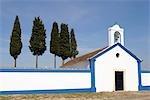 Portugal, Alentejo, Terena, cimetière