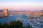 Vieux port de Provence, Marseille, France
