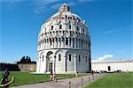 Italy, Tuscany, Pisa, baptistery