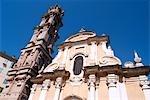 France, Corsica, La Porta, church