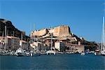 France, Corsica, Bonifacio, the port
