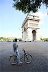 France, Paris, Arch of Triumph