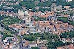 France, Pas-de-Calais, aerial view of Boulogne sur Mer
