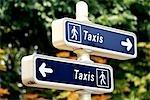 France, Paris, signs