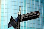 Le pays-bas, la Hollande-méridionale, Rotterdam, signes