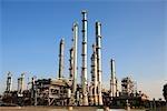 Le pays-bas, la Hollande-méridionale, Rotterdam, raffinerie de pétrole