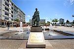 France, Pas-de-Calais, Boulogne sur Mer, statue de Frédéric sauvage